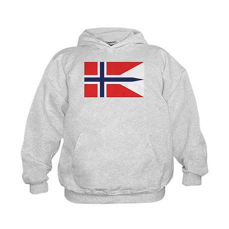 Norway State Flag Kids Hoodie