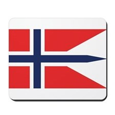 Norway State Flag Mousepad