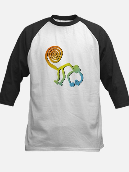 Nazca Monkey Groovy Light Colors Kids Baseball Jer
