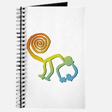Nazca Monkey Groovy Light Colors Journal
