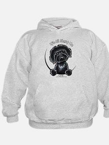 Black Labradoodle IAAM Hoodie