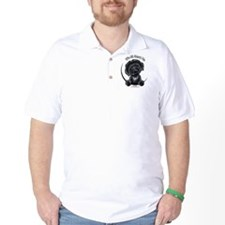 Black Labradoodle IAAM T-Shirt