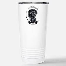 Black Labradoodle IAAM Travel Mug