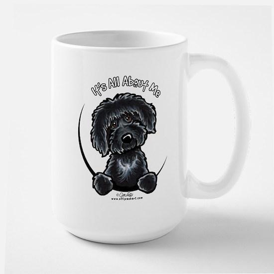 Black Labradoodle IAAM Large Mug