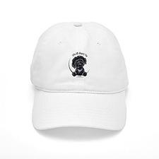 Black Labradoodle IAAM Baseball Cap