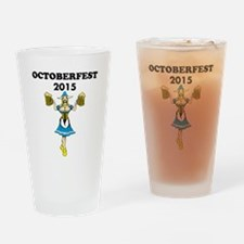 Oktoberfest 2015 Drinking Glass
