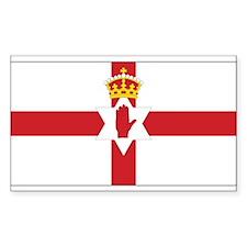 Northern Ireland Flag Rectangle Decal