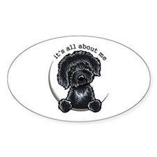 Black Labradoodle IAAM Decal