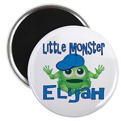 Little Monster Elijah Magnet