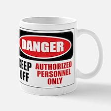 Danger Authorized Mug