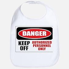 Danger Authorized Bib