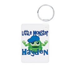 Little Monster Hayden Aluminum Photo Keychain