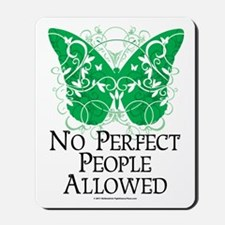No Perfect People Allowed Mousepad