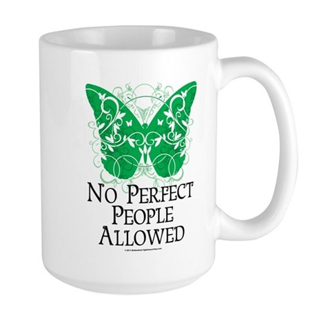 No Perfect People Allowed Large Mug