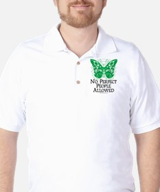No Perfect People Allowed Golf Shirt