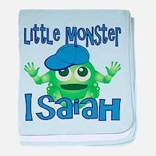 Little Monster Isaiah baby blanket