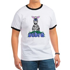 Cartoon Zebra T