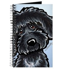 Black Labradoodle Funny Journal