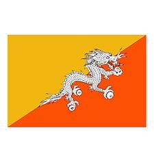 Flag of Bhutan Postcards (Package of 8)