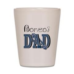 Borzoi DAD Shot Glass