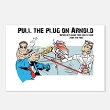 Pull the Plug on Arnold Postcards (Package of 8)