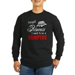Twilight Princess Long Sleeve Dark T-Shirt