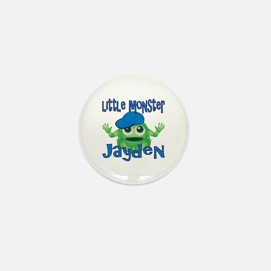 Little Monster Jayden Mini Button