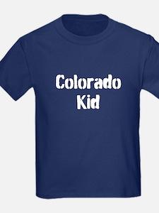 Kids Dark Colorado T-Shirt