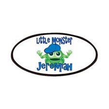 Little Monster Jeremiah Patches
