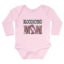 Bloodhound MOM Long Sleeve Infant Bodysuit