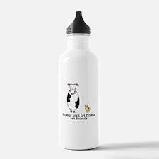 Friends dont let friends Water Bottle