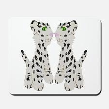Snow Leopards Mousepad