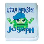 Little Monster Joseph baby blanket