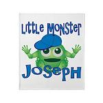Little Monster Joseph Throw Blanket