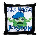 Little Monster Joseph Throw Pillow