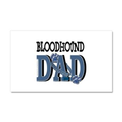 Bloodhound DAD Car Magnet 20 x 12