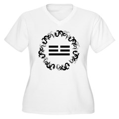 Chinese Dragon Trigram T-Shirt