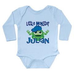 Little Monster Julian Long Sleeve Infant Bodysuit