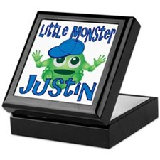 Little Monster Justin Keepsake Box