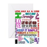 Recovery Greeting Cards
