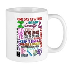 12 STEP SLOGANS IN COLOR Mug