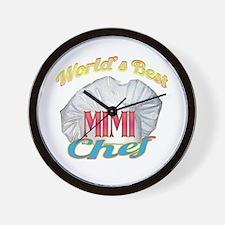 World's Best Mimi / Cook Wall Clock