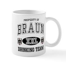 Braun German Drinking Team Mug