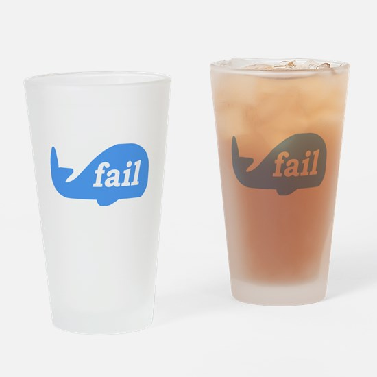 Fail Whale Drinking Glass