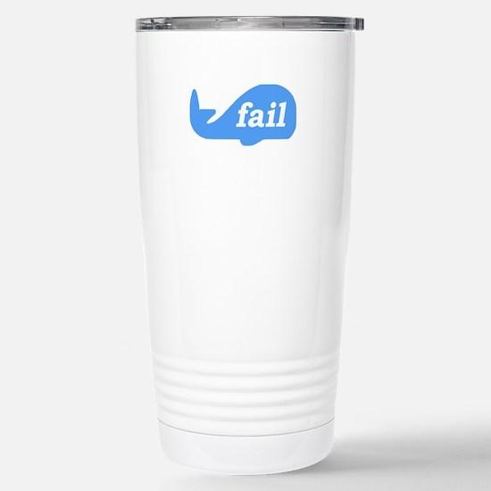 Fail Whale Stainless Steel Travel Mug