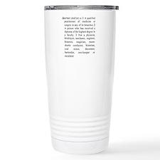 Doctor Definition Travel Mug