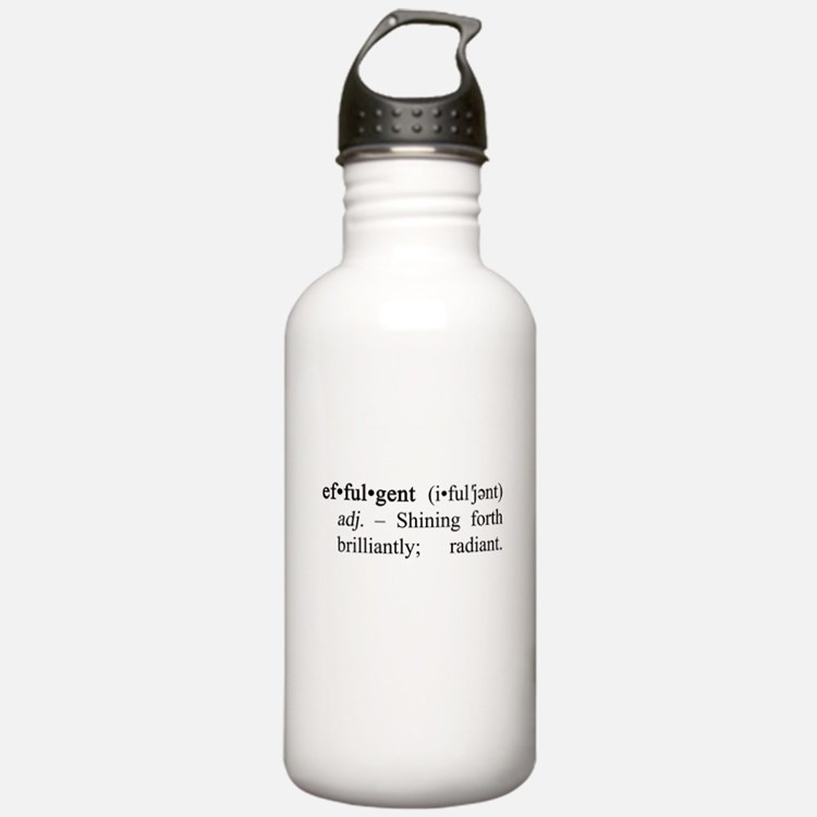 Effulgent Definition Water Bottle