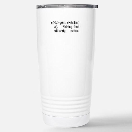 Effulgent Definition Stainless Steel Travel Mug