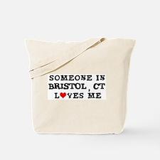 Someone in Bristol Tote Bag