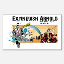 Extinguish Arnold Rectangle Decal